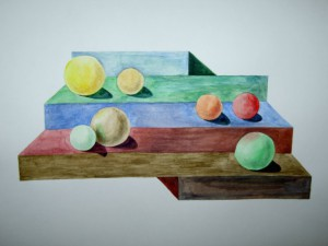 Иллюзия с шарами
